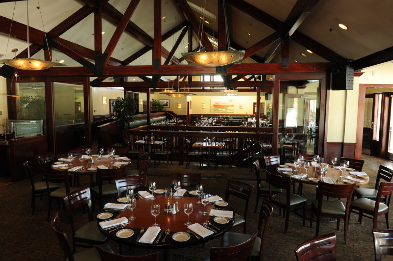 interior of Riva Room at Riva Grill